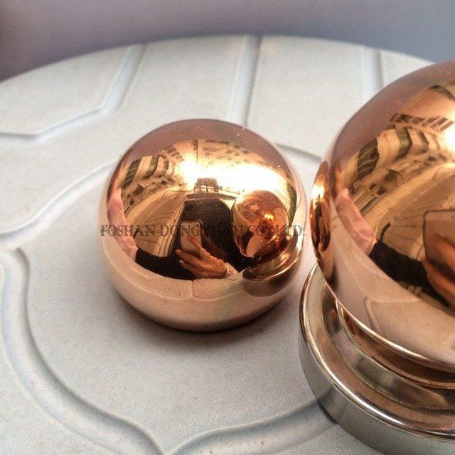 Mirror Polished Copper Spheres