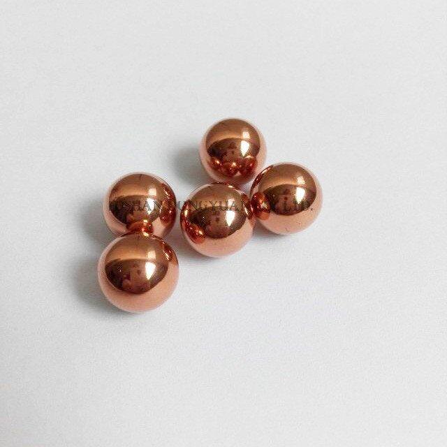 Small Copper Balls