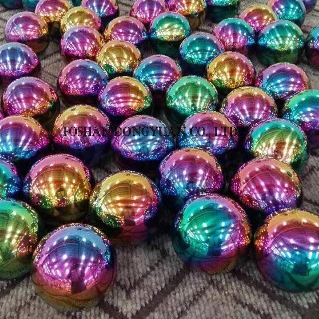 Hollow Rainbow Metal Balls