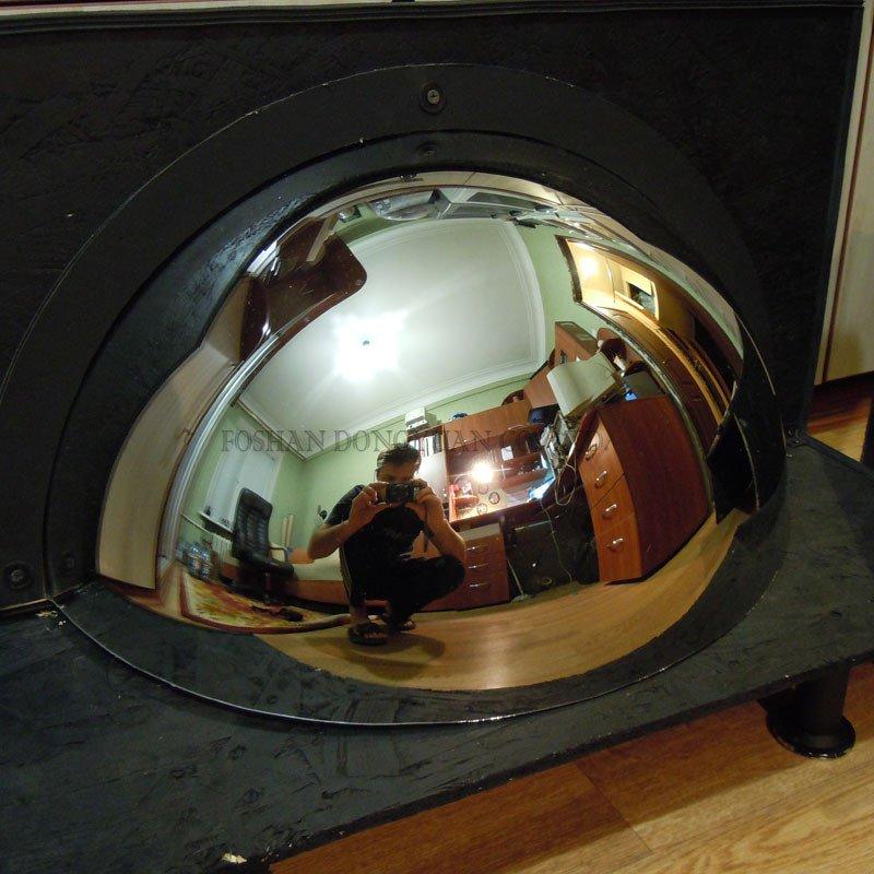 Mirror Stainless Steel Hemisphere