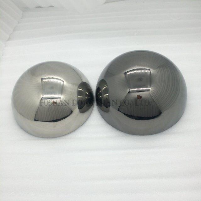 Small Silver/Ball Hemispheres