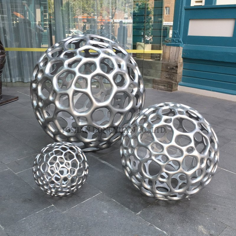 Metal Ball Sculpture
