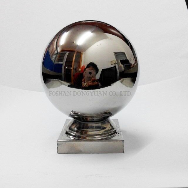 Handrail Ball with Square Base