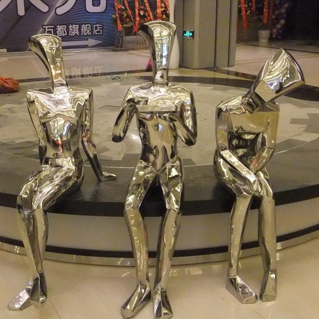 Man Figure Sculptures