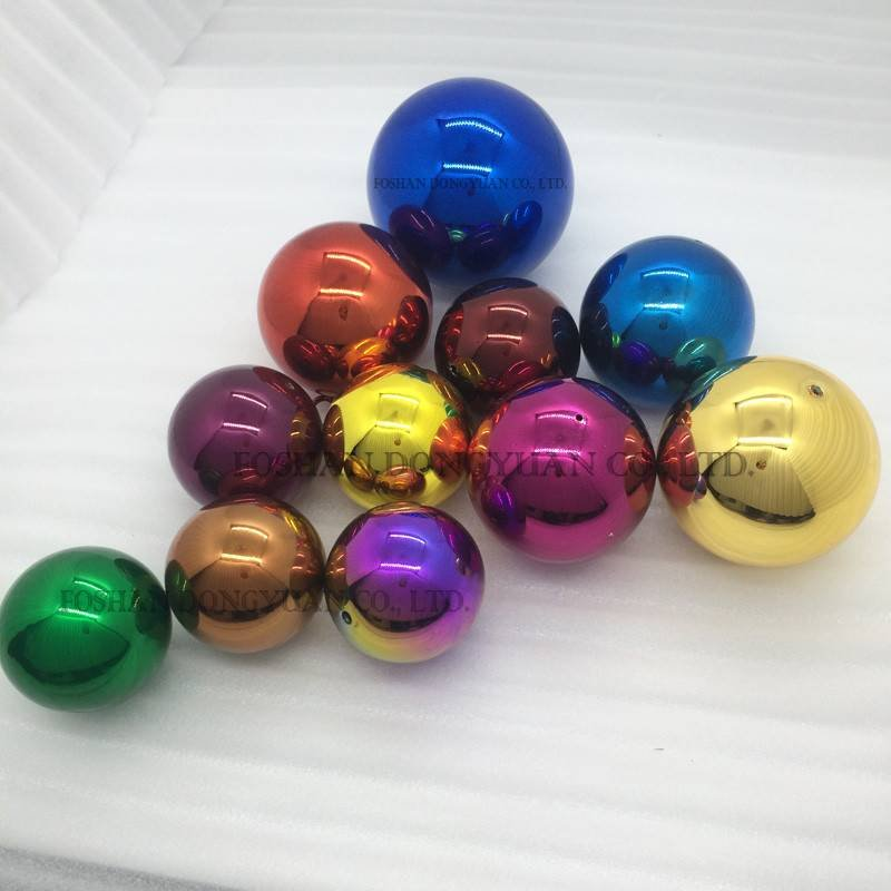 Plated Color Balls